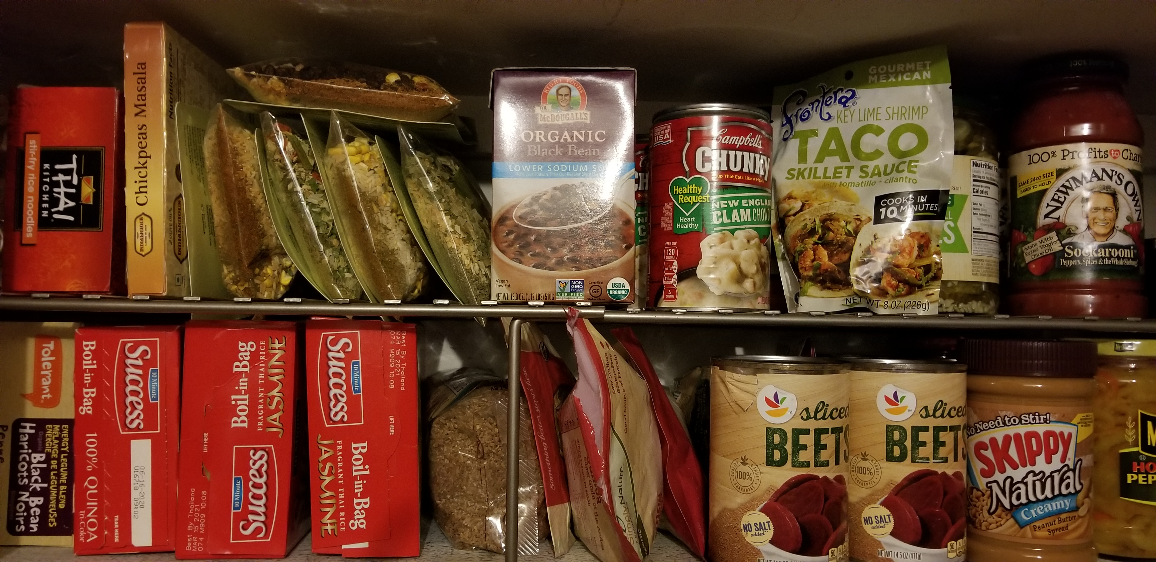 trade food for fines