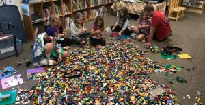 LEGO AT THE LIBRARY!