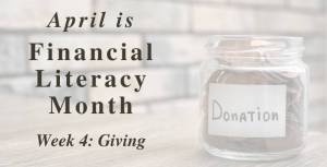 Financial Literacy Month, Post 4