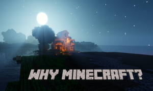 Video Games at the Library - Why Minecraft?