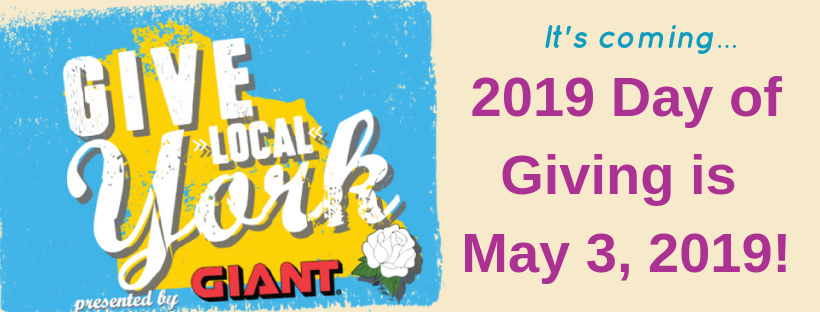 Day of Giving is Friday, May 3, 2019!