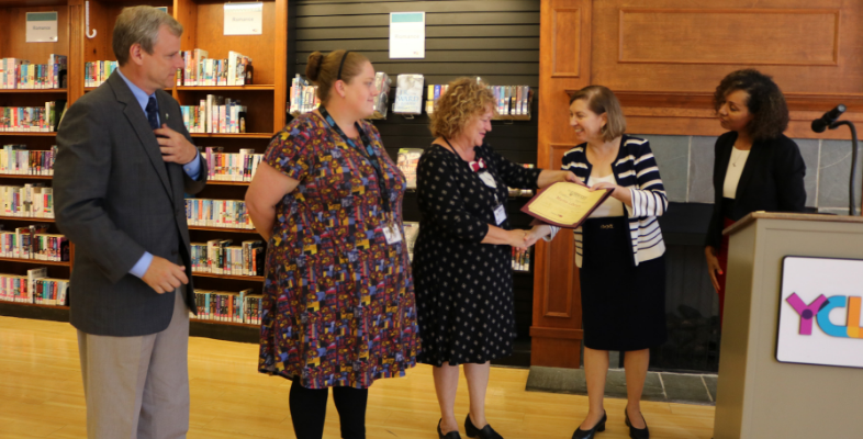 Martin Library Gold Star Award