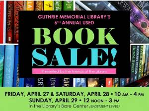 Friends of the Guthrie Library Book Sale