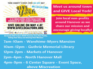 Give Local York - May 4th - Guthrie Events