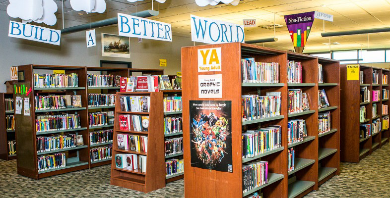 Top 5 Reasons to get a York County Libraries Library Card