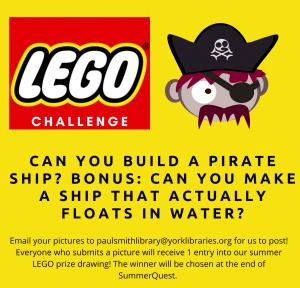Lego Challenge- July 28