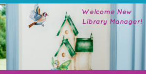New Library Manager Named