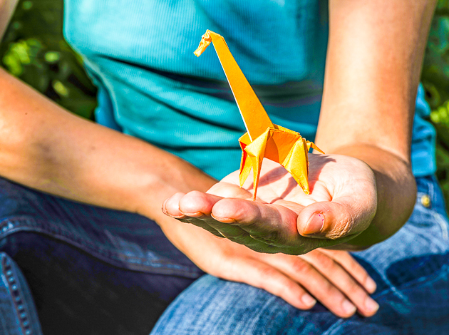 Join us for origami once a month