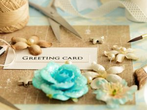 greeting card course option