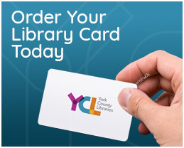 Order Your Library Card