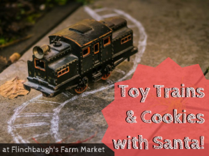 Toy Trains & Cookies with Santa!