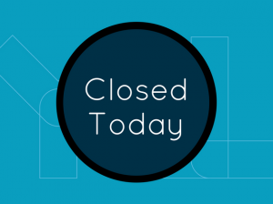 Closed Today Teal Events