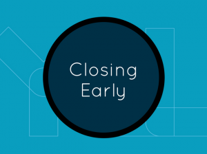 Closing Early Teal Events