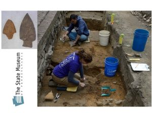 Kurt Carr will describe the Fort Hunter excavations Feb 5th
