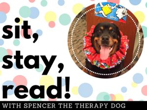 sit,stay,read with spencer