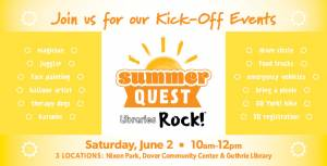SummerQuest Kick-Off event