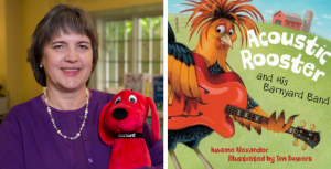 "Miss Lisa shares Kwame Alexandar's ""Acoustic Rooster and His Barnyard Band"""