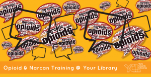 opioid addiction and treatment Opioid and Narcan training at your library