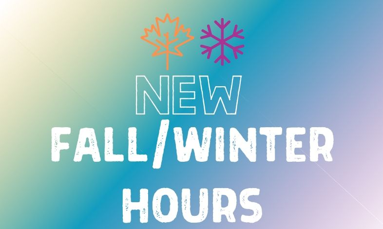 Fall/Winter Hours at York County Libraries