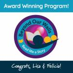 Congratulations, Lisa & Felicia York County Library's Beyond Our Walls
