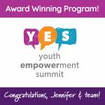Congratulations, Jennifer & Team York County Library's Youth Empowerment Summit