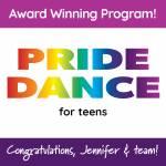 Congratulations, Jennifer & Team Martin Library's Pride Dance