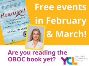 Are you reading the One Book One Community 2020 selection Heartland by Sarah Smarsh?