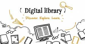 digital library header image