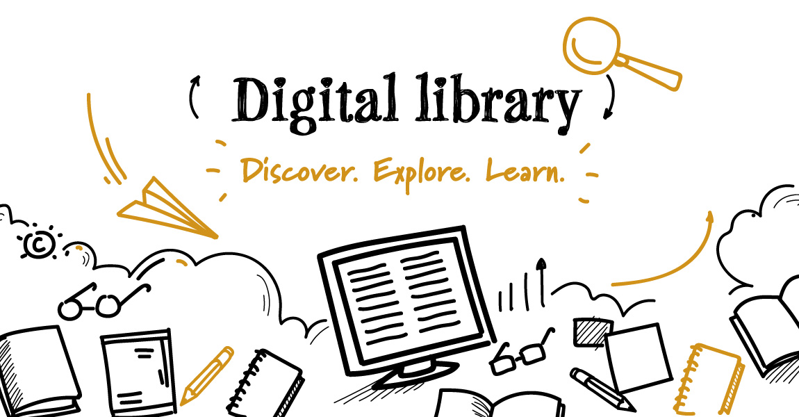 digital library header image
