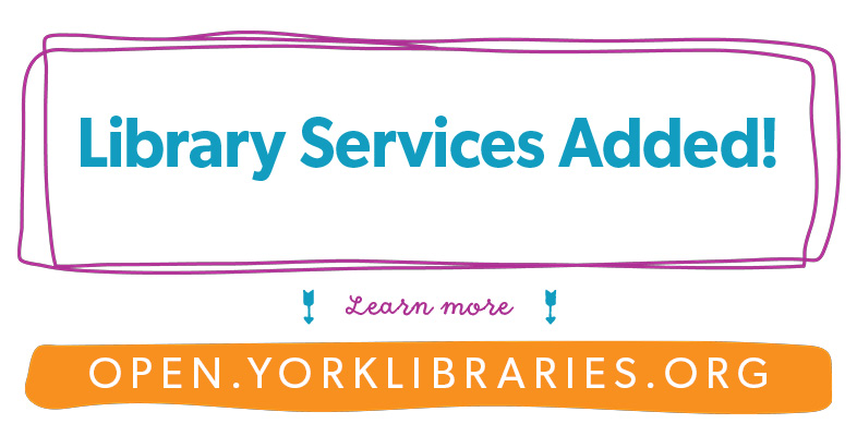 library services added banner