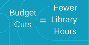 Here's How the Budget Cut Affects Martin Library